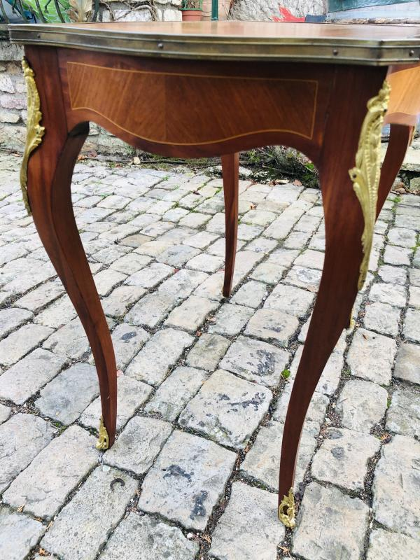 Marquetry Coffee Table-photo-2