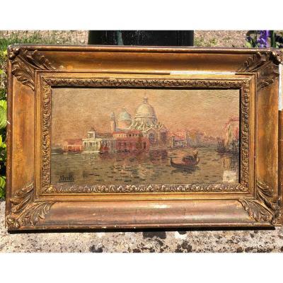 Venise Santa Maria della Salute Neretti.