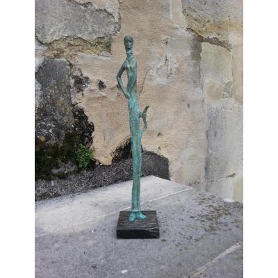 Bronze. D'après Marino Marini. 20ème.
