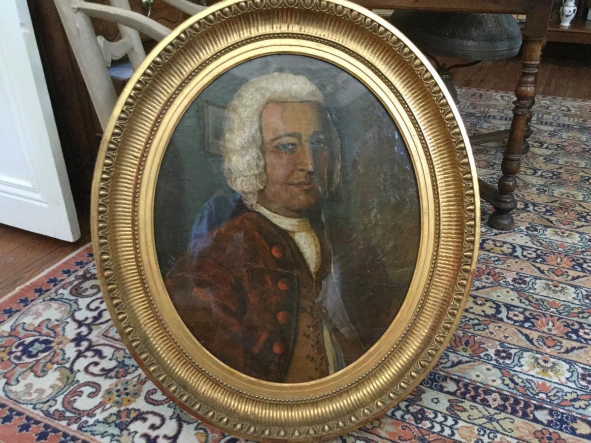 Portrait d'Un Gentilhomme 18eme