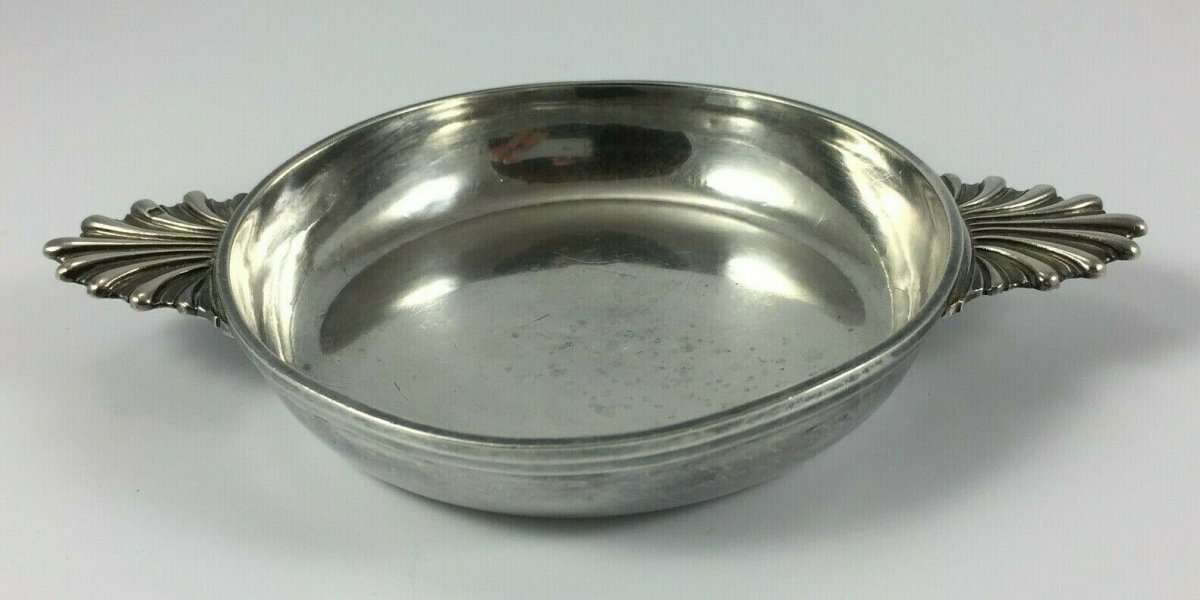 Cup Or Bowl Silver Taken Shell XIX Eme Punch Minerva 75 Grams