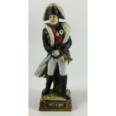 Ney Marechal D Empire Porcelain Figurine From Courille In Paris 1769 1815