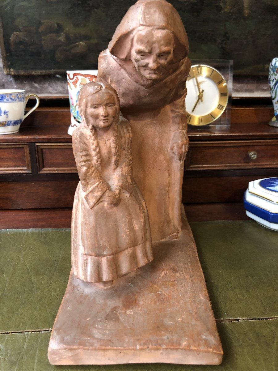 Sculpture Yvon Roy
