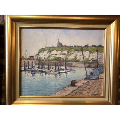 Tableau Port De Dieppe