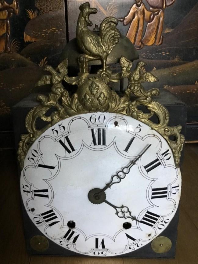 Mouvement d'Horloge Comtoise Au Coq , XVIIIème