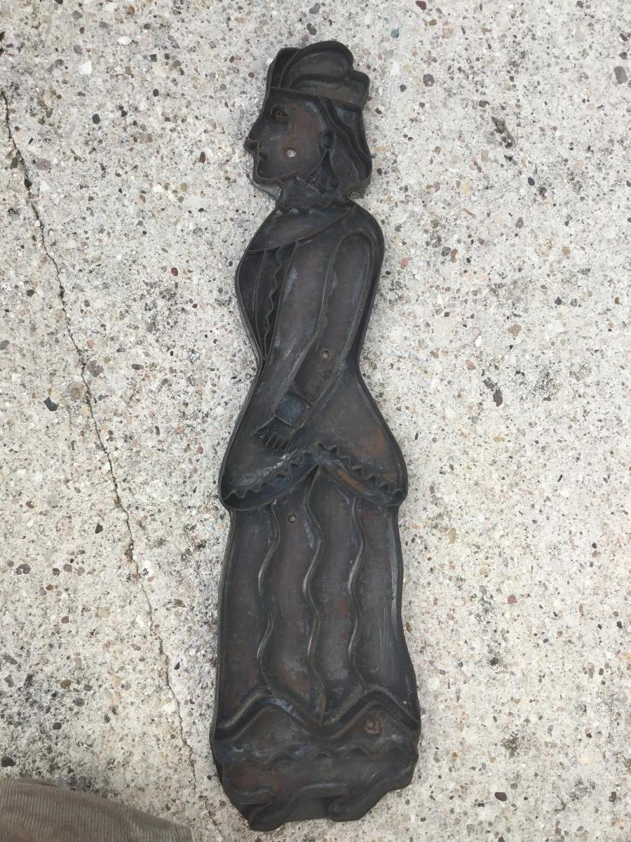 Moule à Pain d'épices, XIXème ( 48 cm)-photo-2