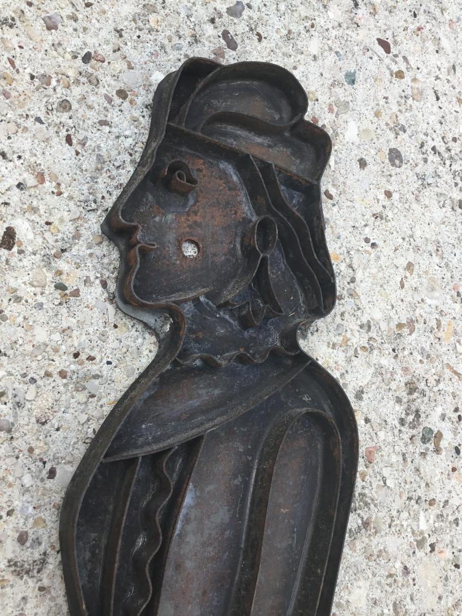Moule à Pain d'épices, XIXème ( 48 cm)-photo-3