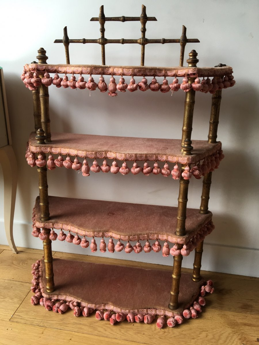 Chinese Shelf From The Napoleon III Period