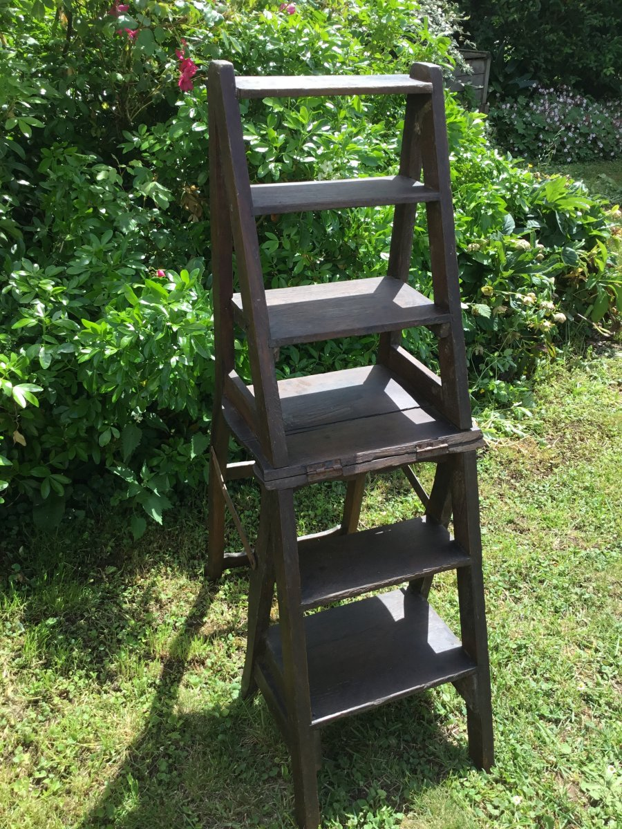 Large Library Ladder Chair