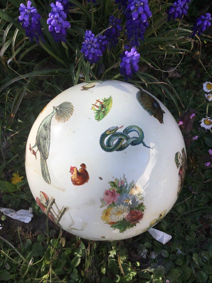 Amusante Boule à Perruque , XIXème-photo-2
