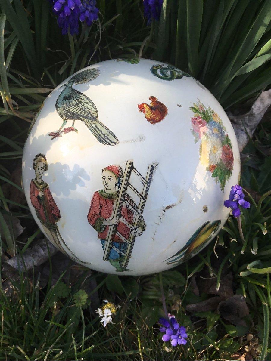 Amusante Boule à Perruque , XIXème-photo-4