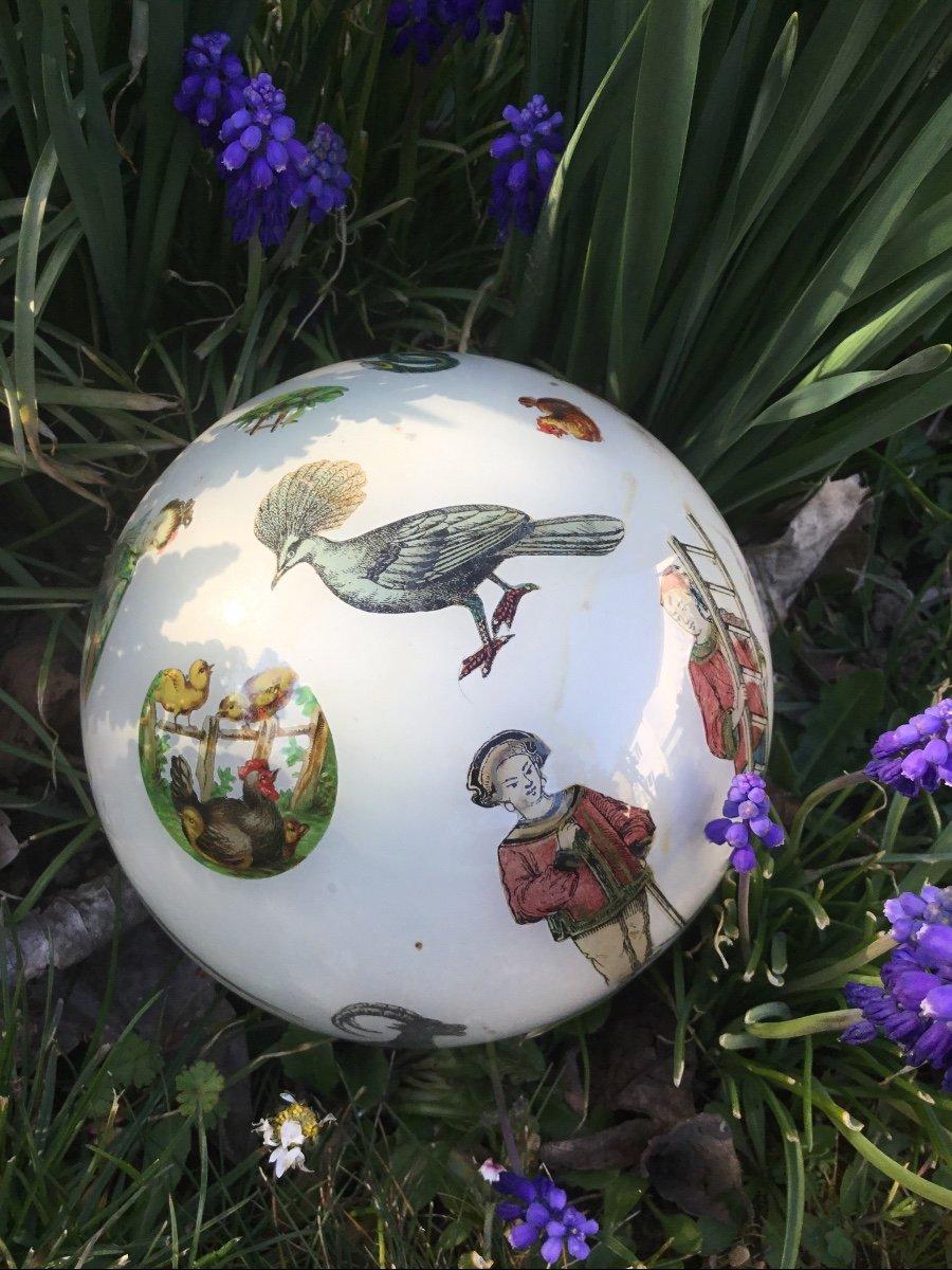 Amusante Boule à Perruque , XIXème-photo-3