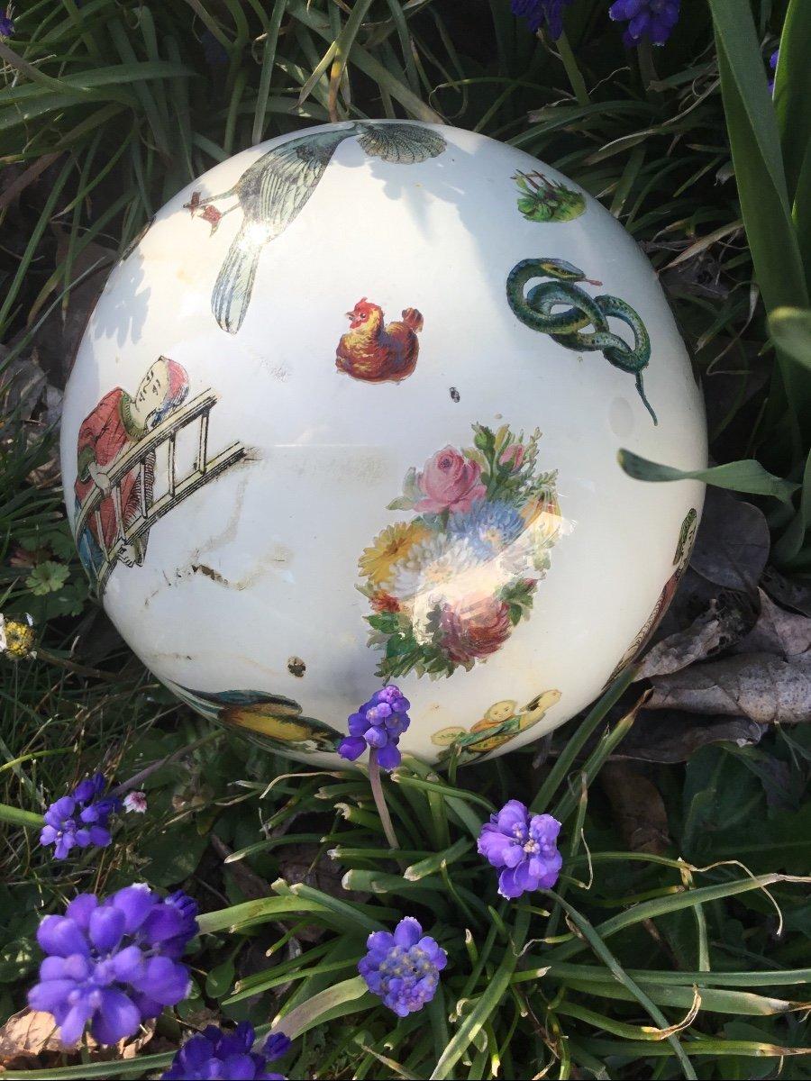 Amusante Boule à Perruque , XIXème-photo-5