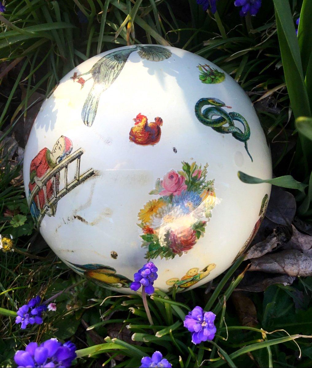 Amusante Boule à Perruque , XIXème