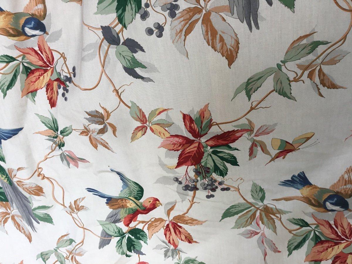 Paire De Très Grands Rideaux Aux Perroquets (280x232)-photo-4