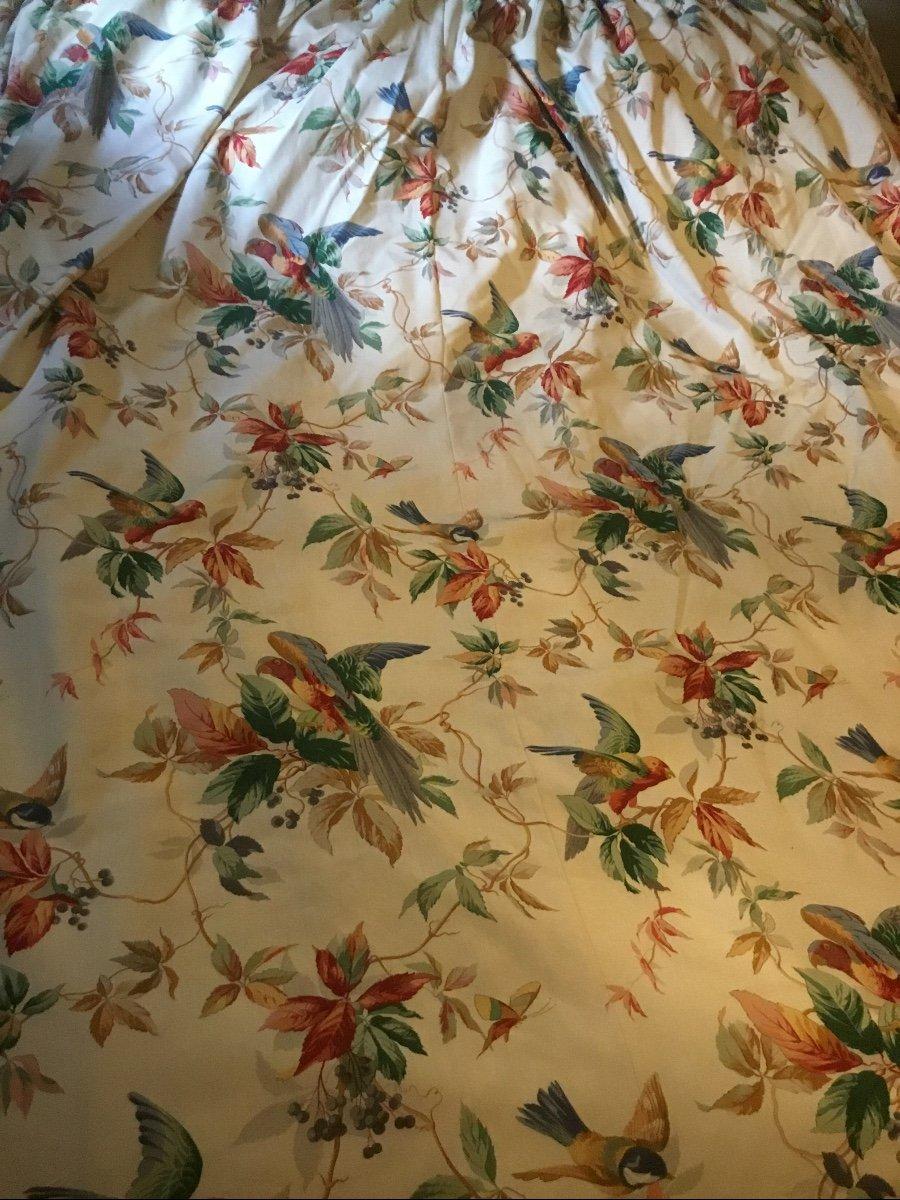 Paire De Très Grands Rideaux Aux Perroquets (280x232)-photo-2