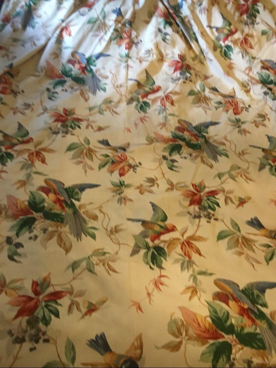 Paire De Très Grands Rideaux Aux Perroquets (280x232)-photo-3