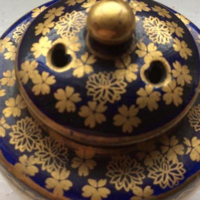 Brûle Parfum Miniature En Faïence De Satsuma, époque Meiji