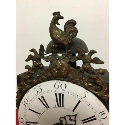 Clock Movement Comtoise Au Coq, XVIIIème