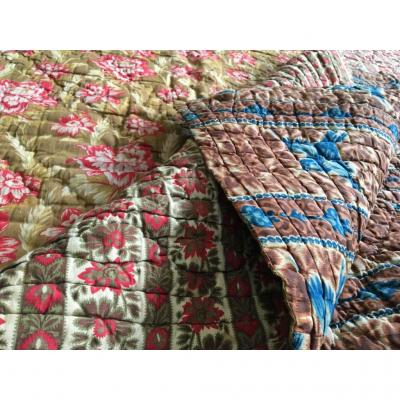 Quilted Cover, Quilted, Provence, Middle Nineteenth