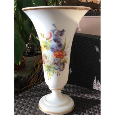Grand Vase En Opaline , ( 30 cm) Napoléon III