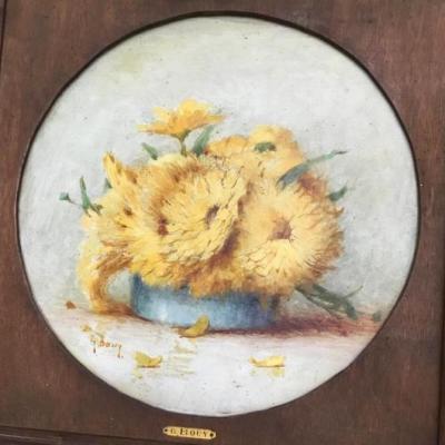 Gaston Bouy, Bouquet De Soucis