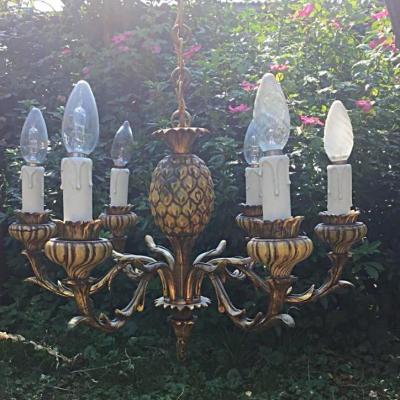 Lustre Ananas , Dans Le Goût De Bagues, XXème