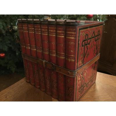 Huntley & Palmer , Boite Simulant Des Livres