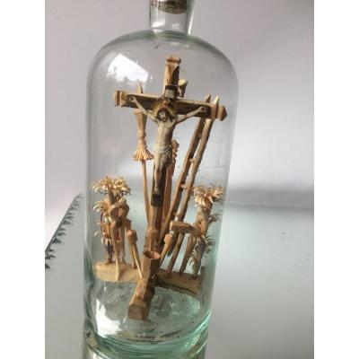 Small Bottle Of The Passion, Folk Art