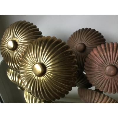 Two Pairs Of Decorative Base Holders