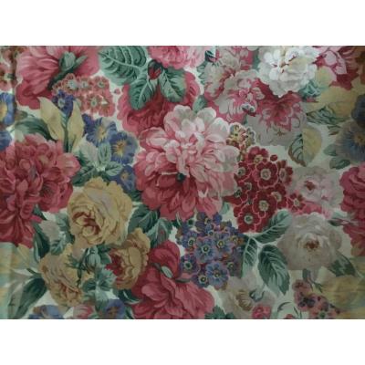 La Série De Rideaux Fleuris (128x220 Cm)