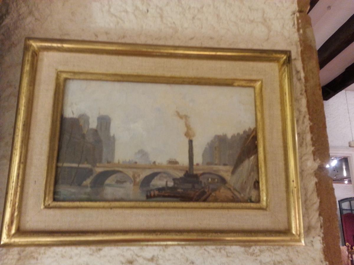 View From Paris Signed Roger Tournay