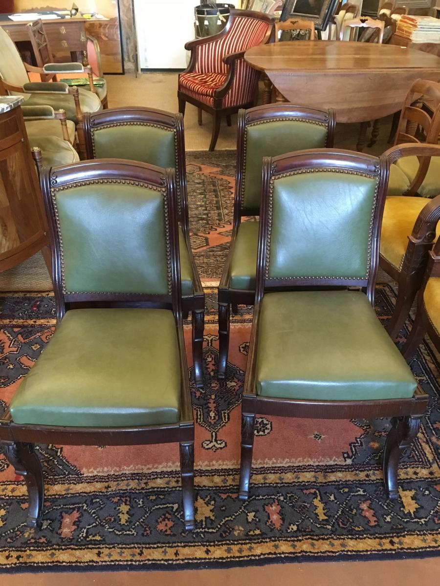 4 Restoration Period Chairs