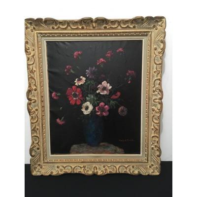 Tableau Bouquet Par Markitante