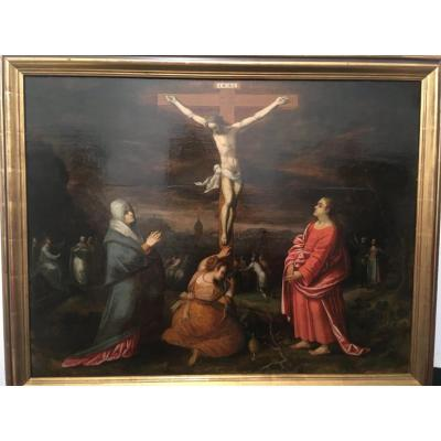 Large Holland School Table XVII ° The Crucifixion