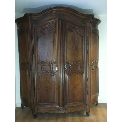 Hunting Cabinet Called Gun Cabinet Louis XV XVIIIth