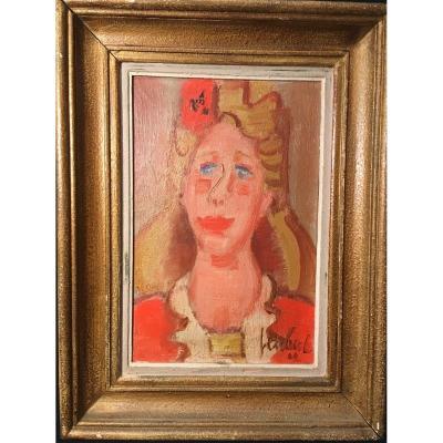 Gen Paul Portrait Of The Daughter Of Marcel Aymé 1942