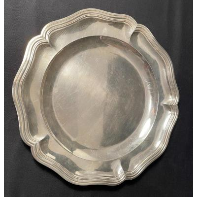 Plate Sterling Silver Goldsmith Harleux XIXth