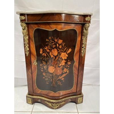 Marquetry Support Height Cabinet.