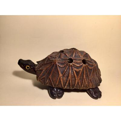 Trompe-l'œil. Star Tortoise In The Spirit Of Anthony Redmile.