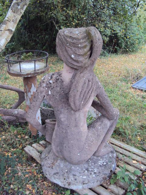 Cement Garden Statue-photo-2