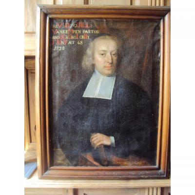 Portrait De Pasteur 18 éme