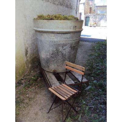 Grand Pot Exterieur En Zinc