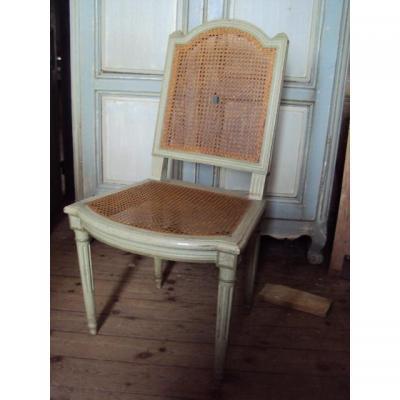 chaise ancienne tabouret ancien sur proantic. Black Bedroom Furniture Sets. Home Design Ideas