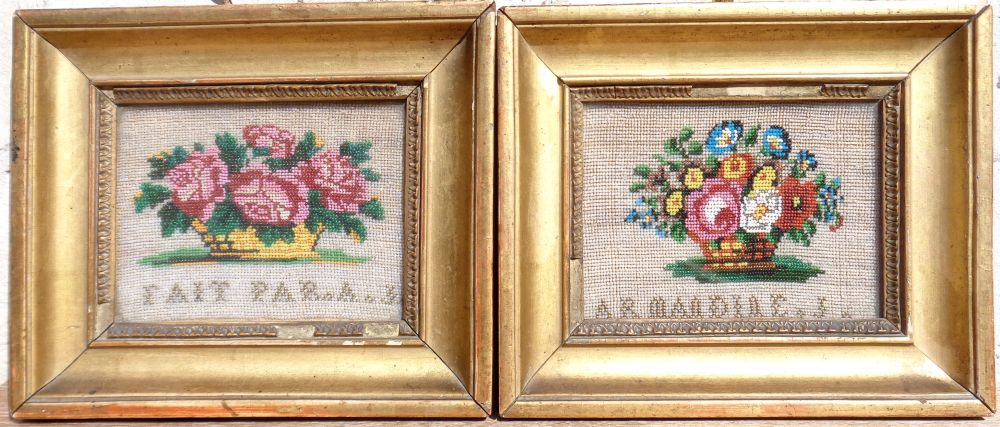 Charles X Beads Embroidery Paintings