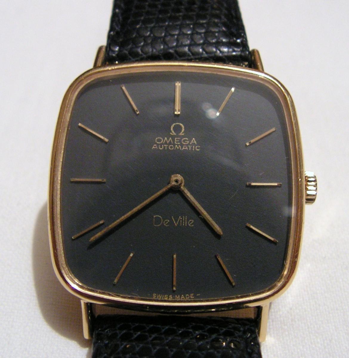 Omega De Ville Automatic Gold 18kt 750/000 Vintage Men's Watch
