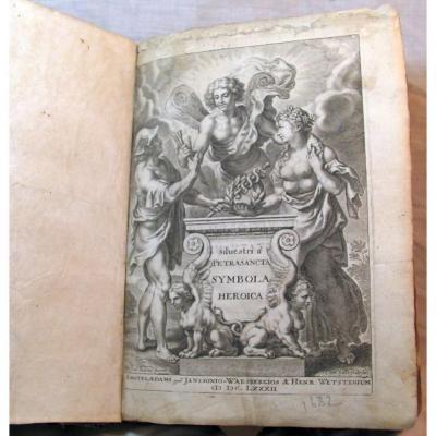 Symbola Heroica. Pietrasanta Silvestro. Amsterdam 1682