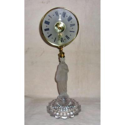 Mysterious Clock (night Light) By Eugène Farcot
