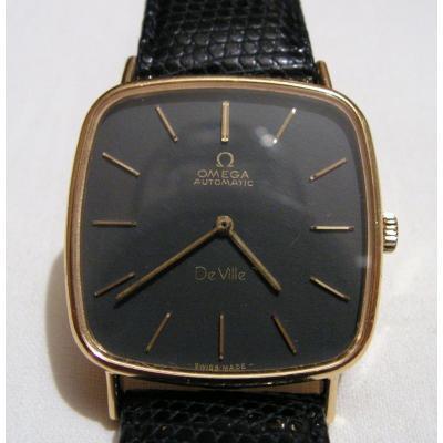 Montre Homme Omega De Ville Automatic Or 18kt 750/000 Vintage