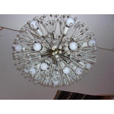 Ceiling Lamp By Emil Stejnar 1959. Vienna